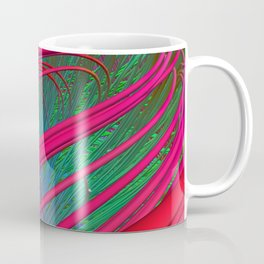 Fibers Crossing Coffee Mug