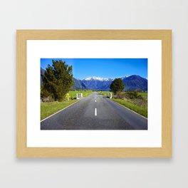 Road. Framed Art Print