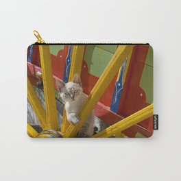 kitten on an Algarve cart, Portugal Carry-All Pouch