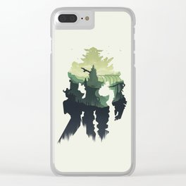 Shadow of the Colossus Clear iPhone Case