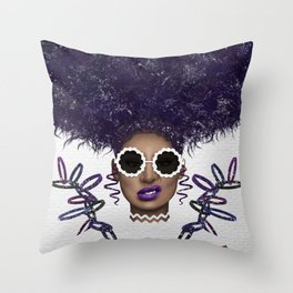 Puff Life Throw Pillow