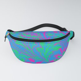 Polysexual Pride Opulent Floral Design Fanny Pack