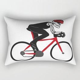 Calavera cycling Rectangular Pillow