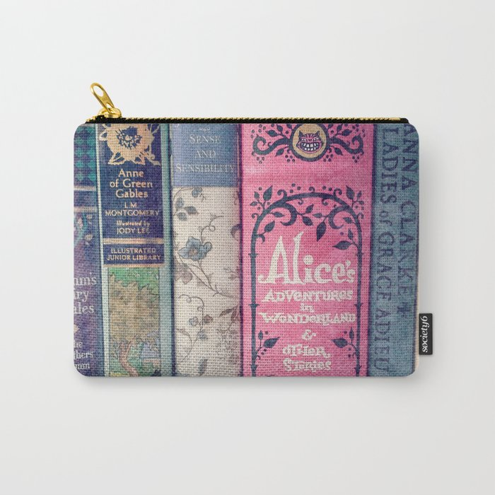 A Perfect Library photo Carry-All Pouch