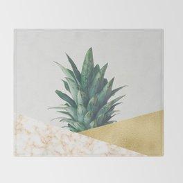 Pineapple Dip VII Throw Blanket
