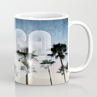 paradise Mugs featuring PARADISE by RichCaspian