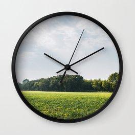 Summer Rays Wall Clock