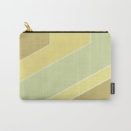 olive ,mustard , abstract Carry-All Pouch