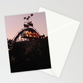 The Cyclone At Dusk NYC Photography Stationery Cards