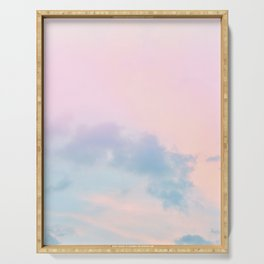 Pastel Sky Dream #1 #decor #art #society6 Serving Tray