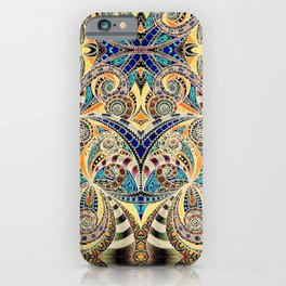 Drawing Floral Zentangle G240 iPhone Case
