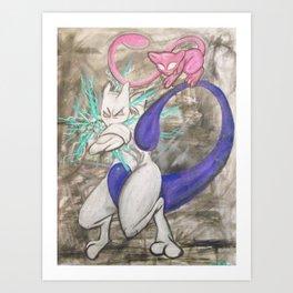 Legends Art Print