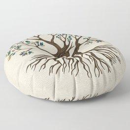 Om Tree  Floor Pillow