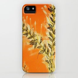 Orangy iPhone Case