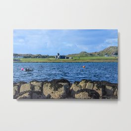 Iona Abbey Isle of Iona Metal Print