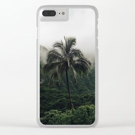 Cloudy Hawaii (2) Clear iPhone Case
