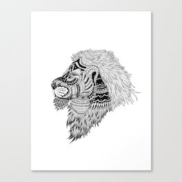 HAKUNA LION Canvas Print