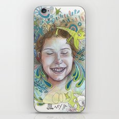 Giggle iPhone & iPod Skin