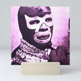 wrestling fighter Mini Art Print
