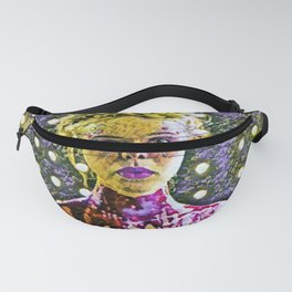 The Neon Demon Artistic Illustration Flowers Style Fanny Pack