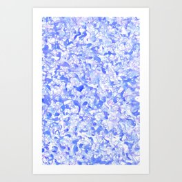 Road Speaks - Blues Art Print
