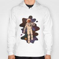 spaceman Hoodies featuring Spaceman by MadSensei