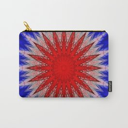 Union Jack Kaleidoscope Carry-All Pouch