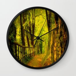 stone road Wall Clock
