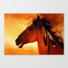 HORSE - Apache Canvas Print