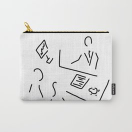 bank shop assistant bank clerk Carry-All Pouch