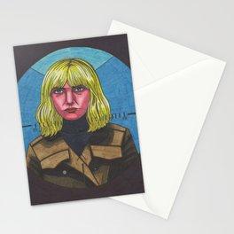 Blue Monday Blonde Stationery Cards