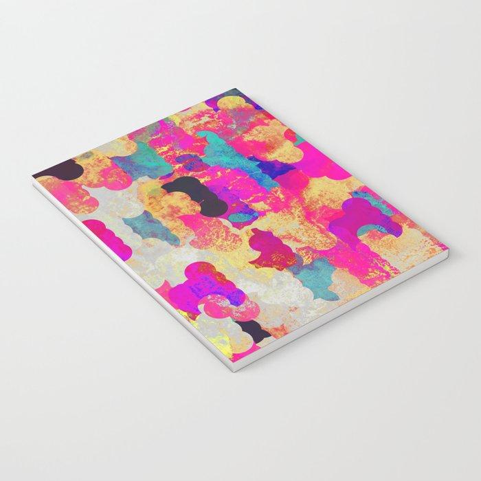 Neon Tambourine Notebook