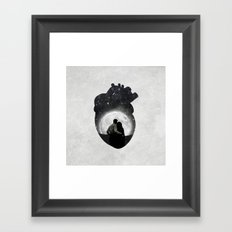You Are in My Heart Framed Art Print