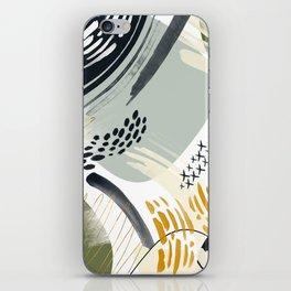 Abstract autumn season iPhone Skin