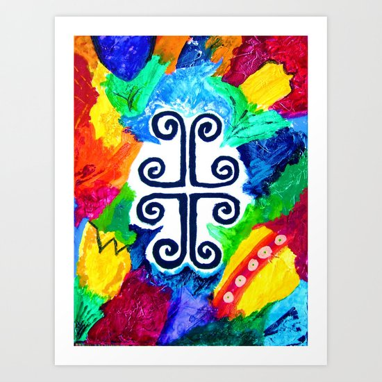 """At-the-Cross"" Art Print"