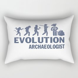 Evolution - Archaeologist Rectangular Pillow