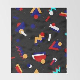 Memphis geometric pattern #2 Throw Blanket