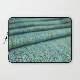 Advancing twill, hand dyed tencel Laptop Sleeve