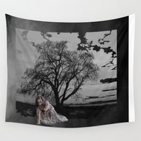 zombie Wall Tapestries featuring zombie by Shea33