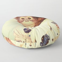 Space Cadet Floor Pillow