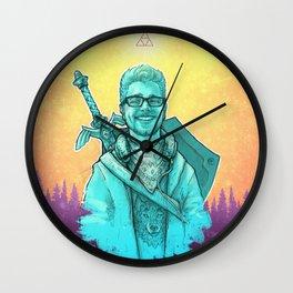 The Legend Of Robert Wall Clock