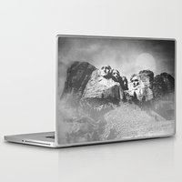 rushmore Laptop & iPad Skins featuring Rushmore at Night by Peaky40