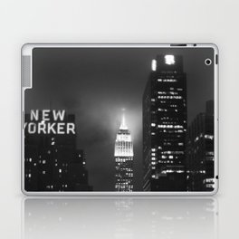 Empire State Building at Night Laptop & iPad Skin