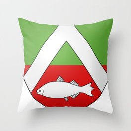Coat Of Arms Of Constantine_2_(French_Algeria) Throw Pillow