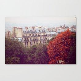 Montmartre, Paris Canvas Print