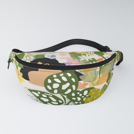 Bathing with Plants Fanny Pack