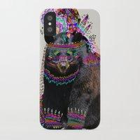 king iPhone & iPod Cases featuring Ohkwari  by Kris Tate