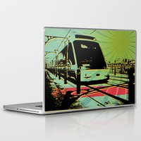 train Laptop & iPad Skins featuring Train by Pedro Nogueira