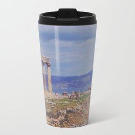 Ancient Corinth Travel Mug