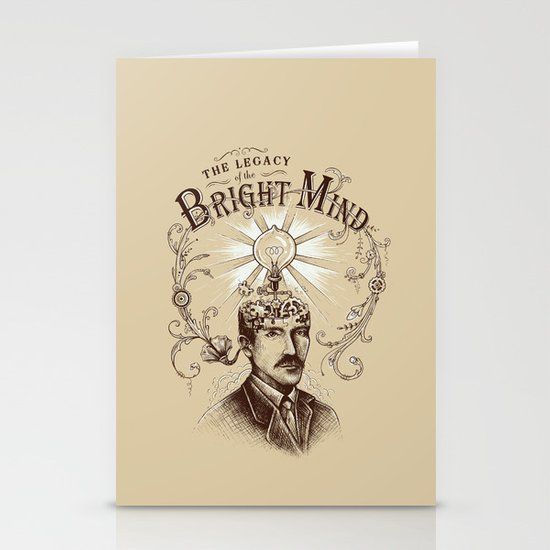 The Legacy of the Bright Mind Stationery Cards